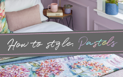 How to style your home with pastels