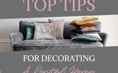 Top Tips for Decorating a Rental Home